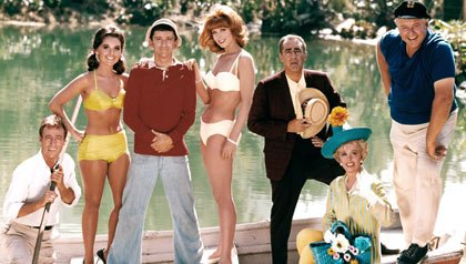 Shot of Gilligan's Island cast