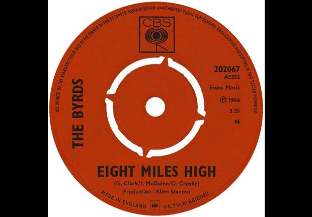 The Byrds record in 1966, Eight Miles High
