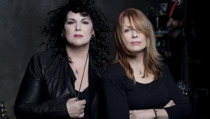 Heart's new album, Fanatic, comes out on October 2. For their radio interview.