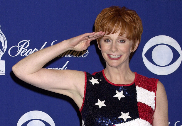 Reba in 2002, and her other notable hairstyles