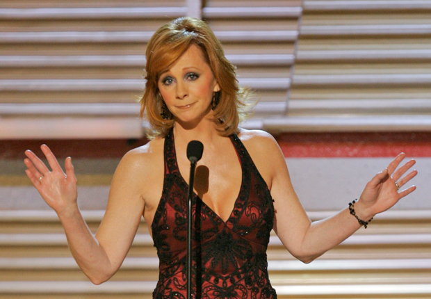 Reba in 2007, and her other notable hairstyles