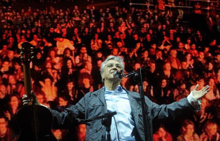 Caetano Veloso, artista brasileño nombrado Personalidad del año del Latin Grammy 2012.