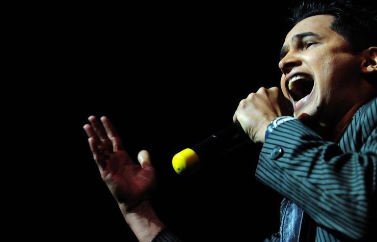 Jorge Celedón, cantante colombiano de vallenatos.