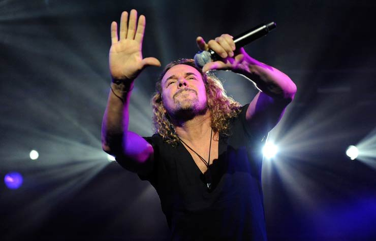 Fher, Fernando Olvera, vocalista de la agrupación mexicana Maná.