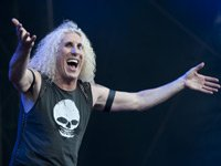 Dee Snider of Twisted Sister performs on stage during Azkena Rock Festival, Holiday Albums AARP