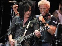 Steve Stevens (left) and Billy Idol perform at the eighth annual MusiCares MAP Fund Benefit Concert, Holiday Albums AARP