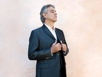 Tenor Andrea Bocelli is photographed for Live Night & Day magazine in Pisa, Italy