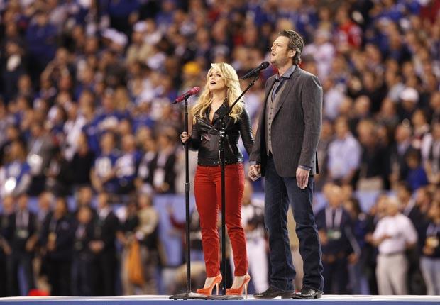 Blake Shelton y Miranda - Guía para los premios Grammys 2013