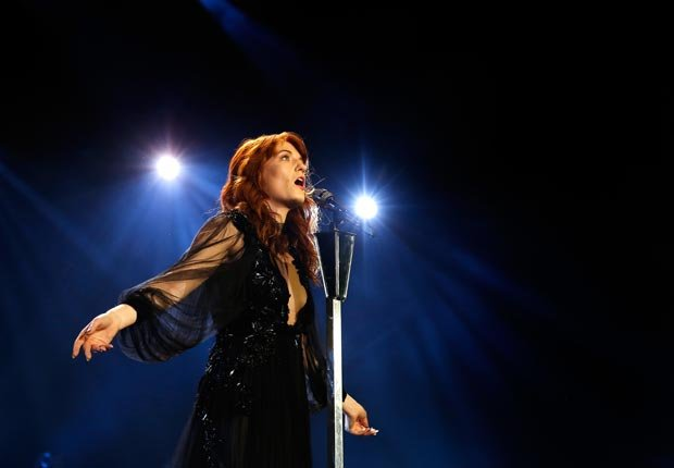 Florence Welch of Florence And The Machine  - Guía para los premios Grammys 2013