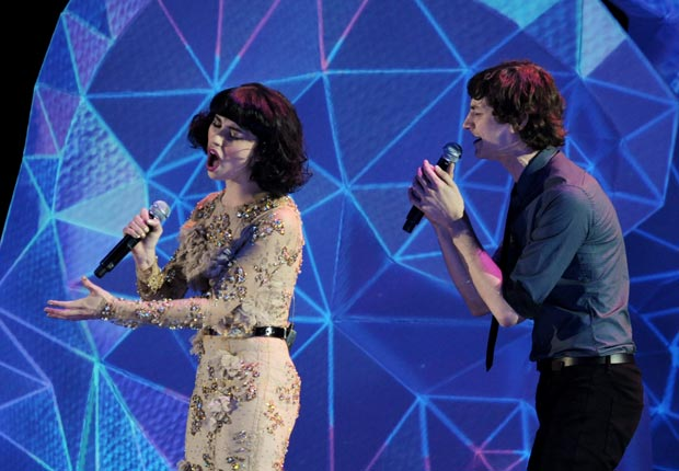 Gotye and Kimbra Johnson