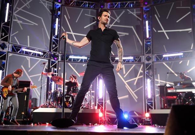 Adam Levine de Maroon 5 - Guía para los premios Grammys 2013