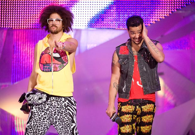 Redfoo and Skyblu of LMFAO