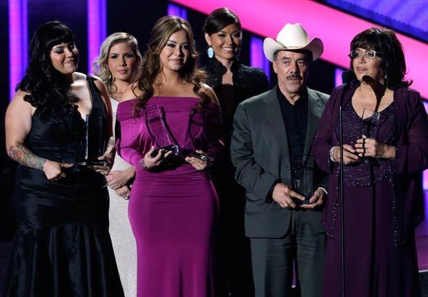 Familia de Jenni Rivera en los premios BillBoard 2013