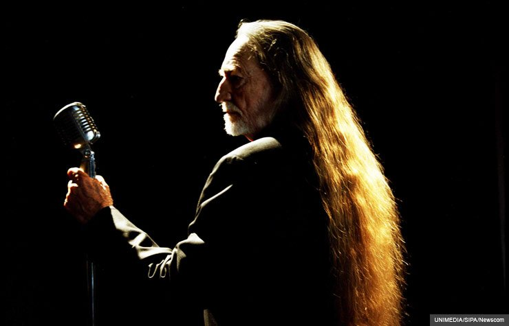 Portrait of Willie Nelson, 2010