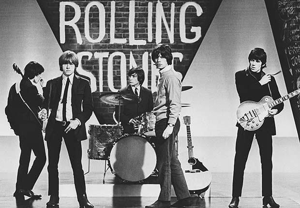 Rolling Stones -  Bill, Brian, Charlie, Mick y Keith en 1964