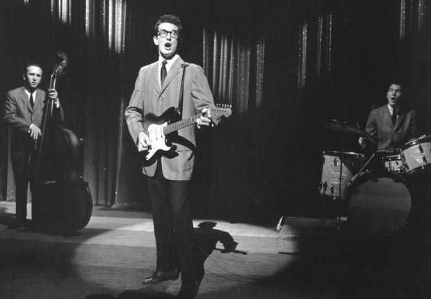 Rock Roll Stars Led Zeppelin beatles rolling stones beach boys chuck berry elvis bill haley little richard jerry lee lewis buddy holly everly brothers classic slideshow (Michael Ochs Archives/Getty Images)
