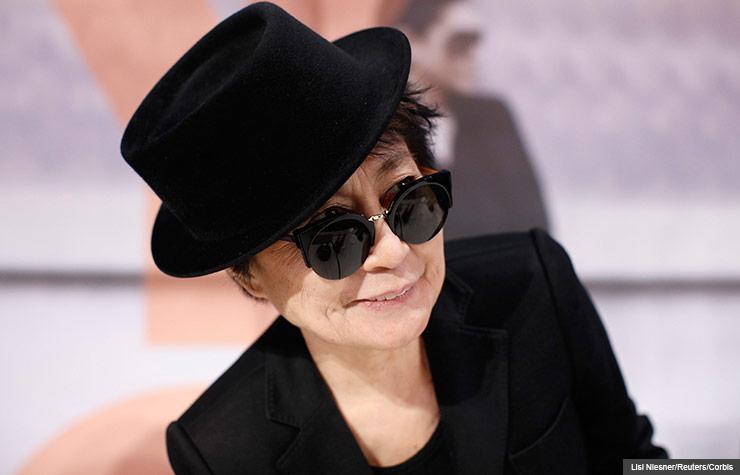 Portrait of Yoko Ono, 2013. (Lisi Niesner/Reuters/Corbis)