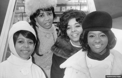 The Crystals, from left to right; Barbara, Dee Dee, Fran and La La, Interview with LaLa Brooks (Keystone/Getty Images)