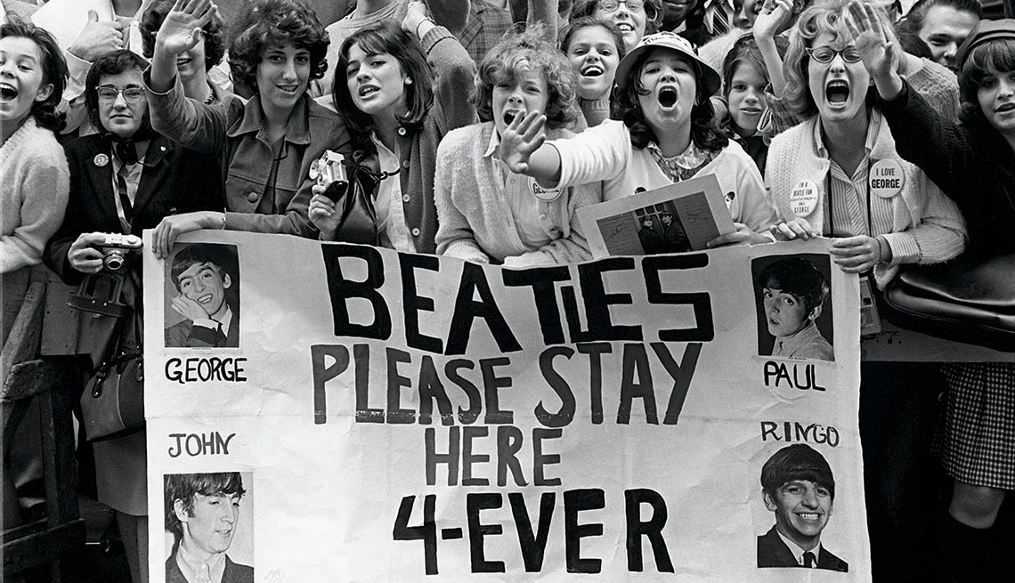 Beatle Fans, Beatlemania, The Beatles, The Sixties, Musicians Recall Beatlemania, The Fab Four