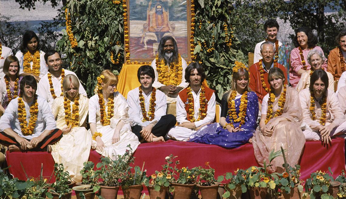 The Beatles Go to India To Meet Spiritual Adviser, Maharishi Mahesh Yogi, The Beatles Slideshow