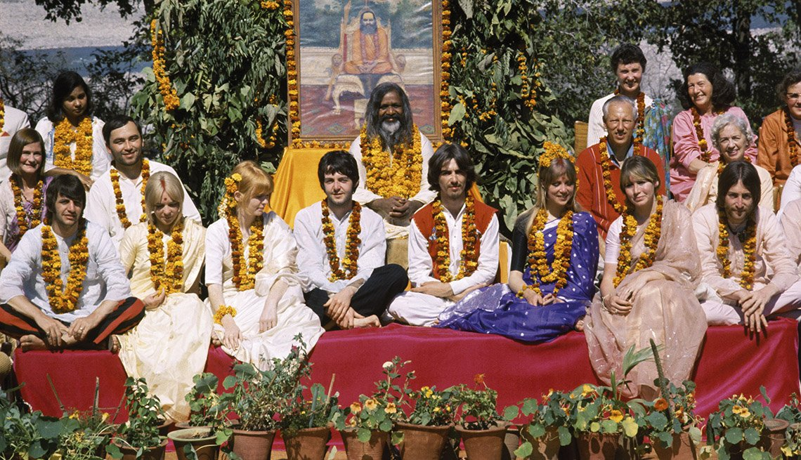 The Beatles Go to India To Meet Spiritual Adviser, Maharishi Mahesh Yogi, The Beatles Slideshow