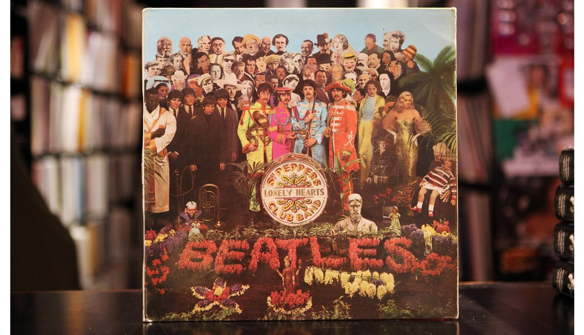 Album, Vinyl, The Beatles, Sergeant Pepper's Lonely Hearts Club Band, The Beatles Slideshow