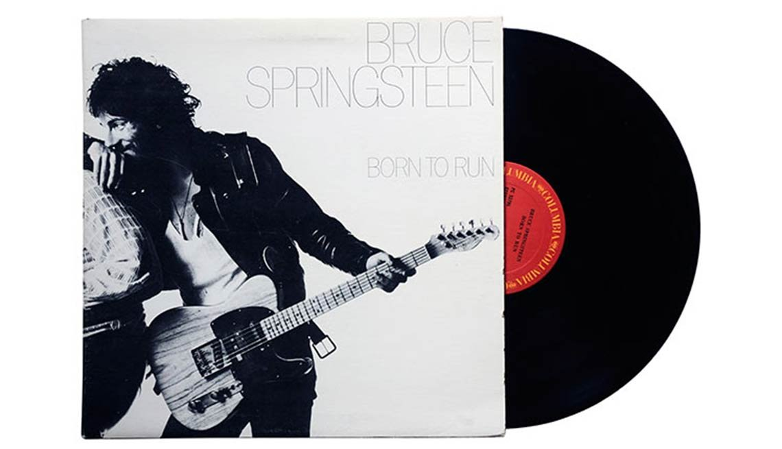 Bruce Springsteen, Born To Run Album, Boomer's Top 10 Albums Poll