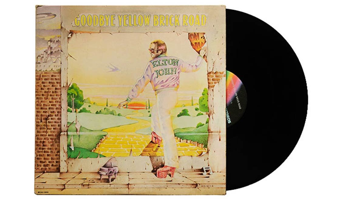 Elton John, Goodbye Yellow Brick Road Album, Boomer's Top 10 Albums Poll