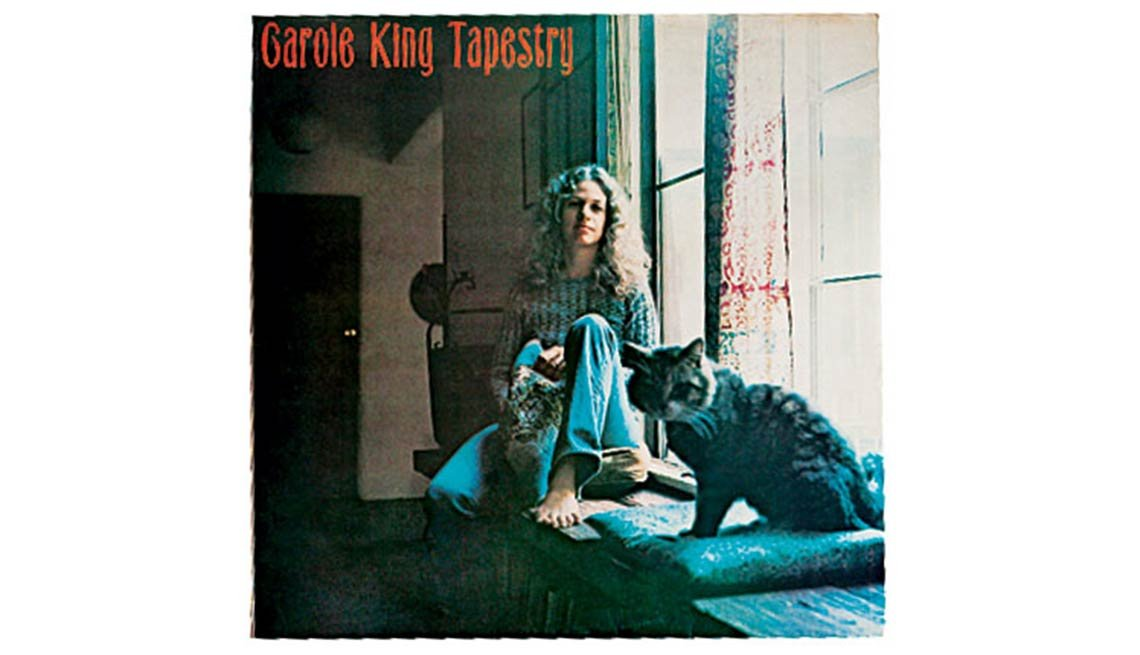 Tapestry Album Cover, Carole King, Boomer's Top 10 Albums Poll