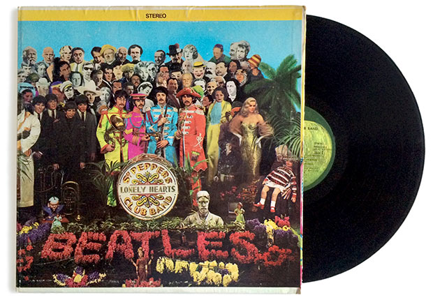 Sgt. Pepper's Lonely Heart's Club Band album by the Beatles