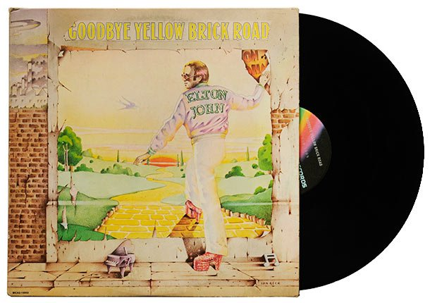Elton John Goodbye Yellow Brick Road album