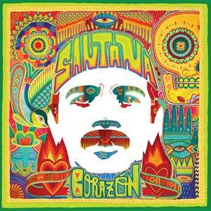 Portada del álbum Corazon de Carlos Santana