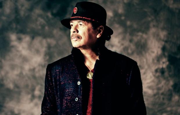 Retrato de Carlos Santana