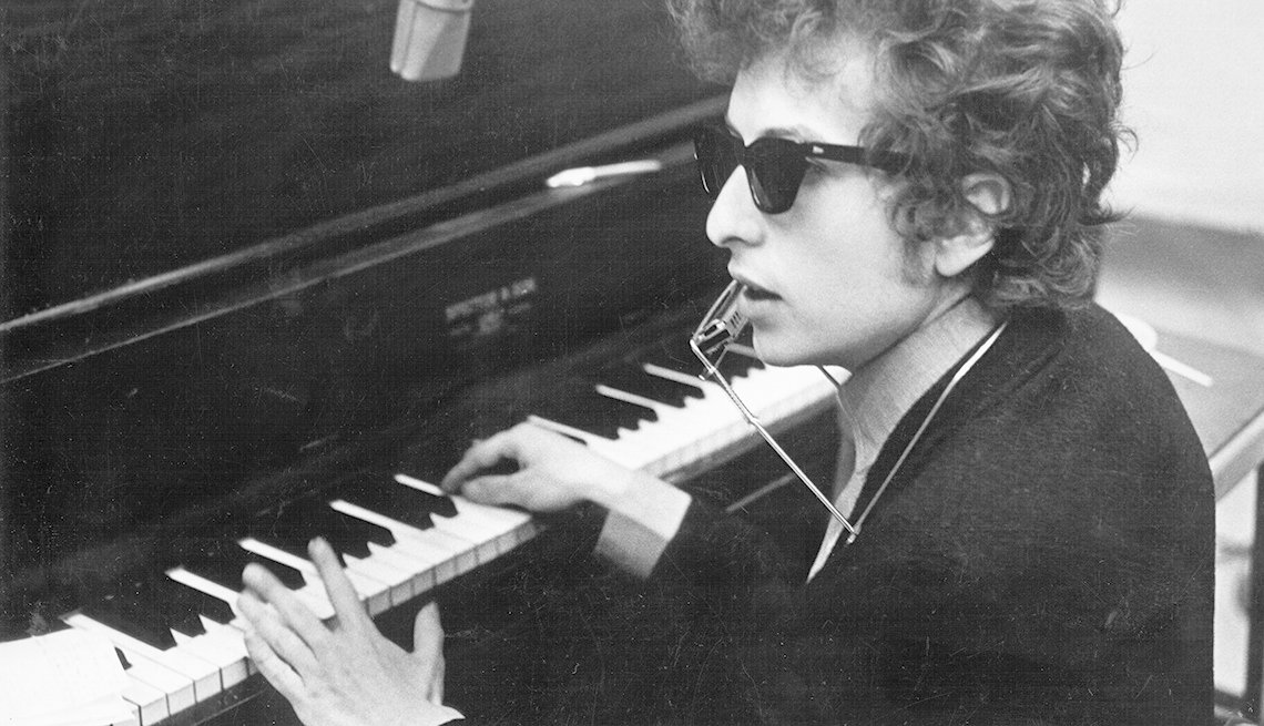 Bob Dylan, Singer, Musician, Piano, Boomer Generation Soundtrack