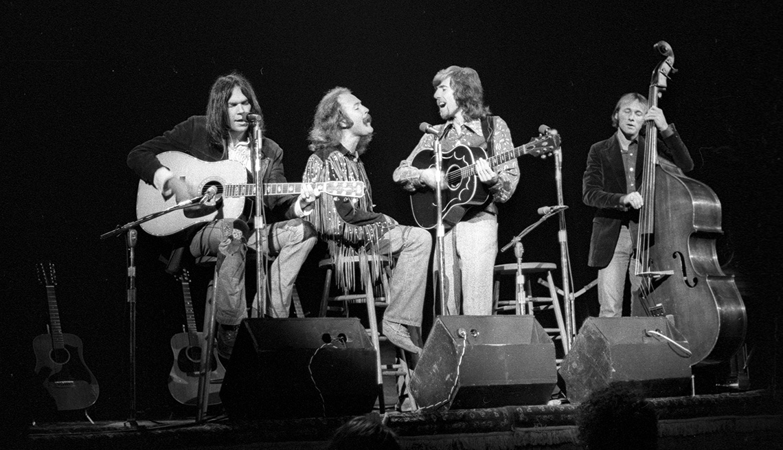 Crosby, Stills, Nash And Young, Band, Musicians, Singers, Boomer Generation Soundtrack