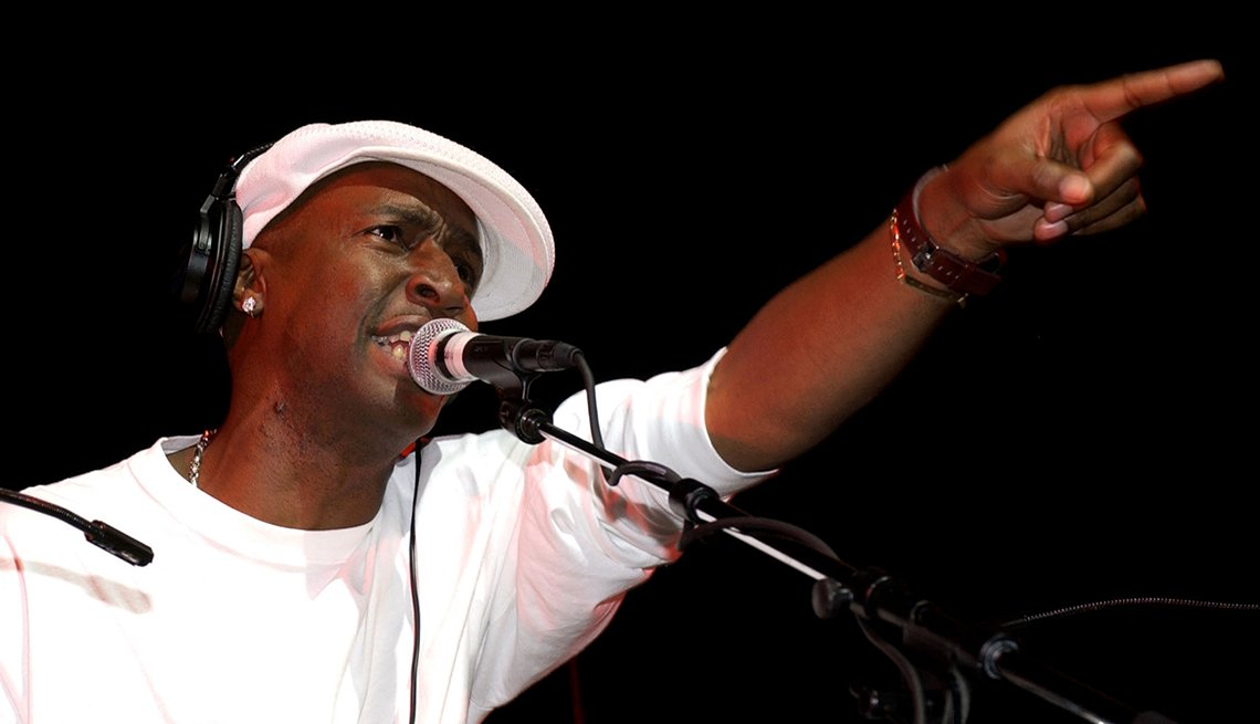 Grandmaster Flash, Microphone, On Stage, Performance, Deejay, Hip Hop Boomers