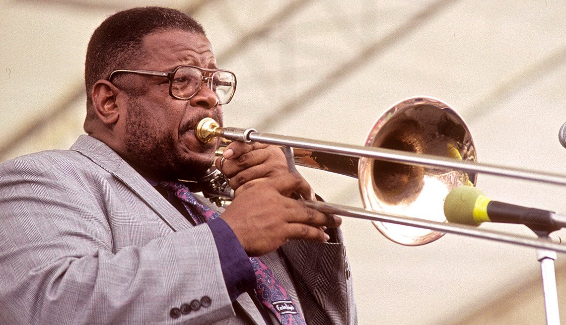 Fred Wesley, Trumbonist, Performance, On Stage, Musician, Stars Who Made James Brown A Star