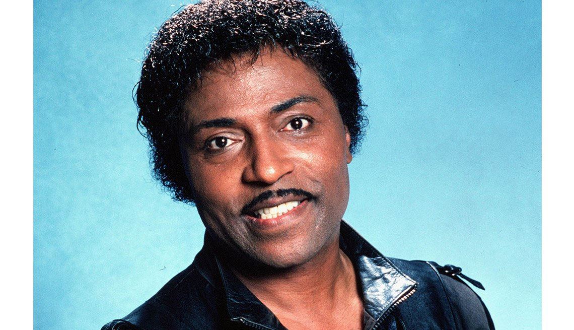 Portrait Of Singer, Little Richard, Stars Who Made James Brown A Star