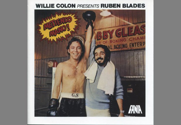 Album de música Metiendo Mano de Ruben Blades y Willie Colón