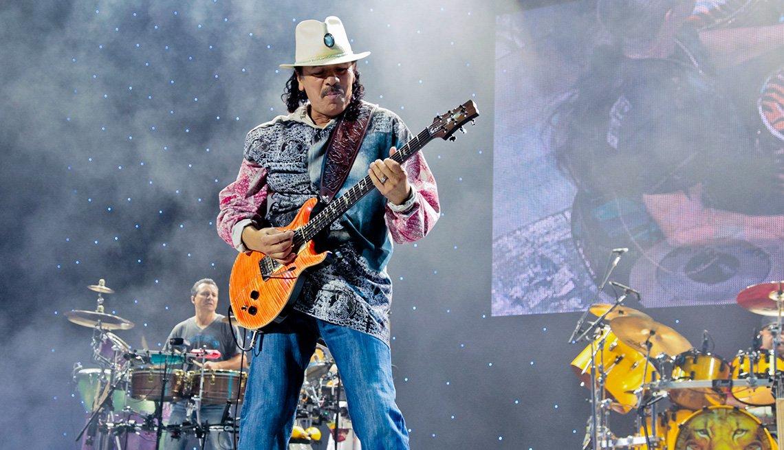 Carlos Santana On Stage / Carlos Santana en concierto