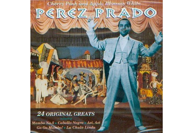 Dámaso Pérez Prado - Portada del disco 24 éxitos originales.