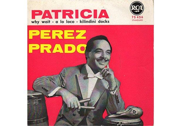 Dámaso Pérez Prado - Patricia - Portada del disco Patricia.