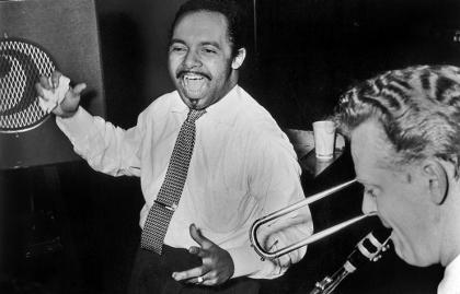 Músico cubano y director de orquesta Damaso Pérez Prado