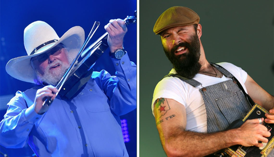 Bridging the Music Gap, The Charlie Daniels Band/The Reverend Peyton's Big Damn Band