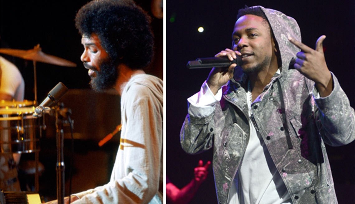 Bridging the Music Gap, Gil-Scott Heron/Kendrick Lamar