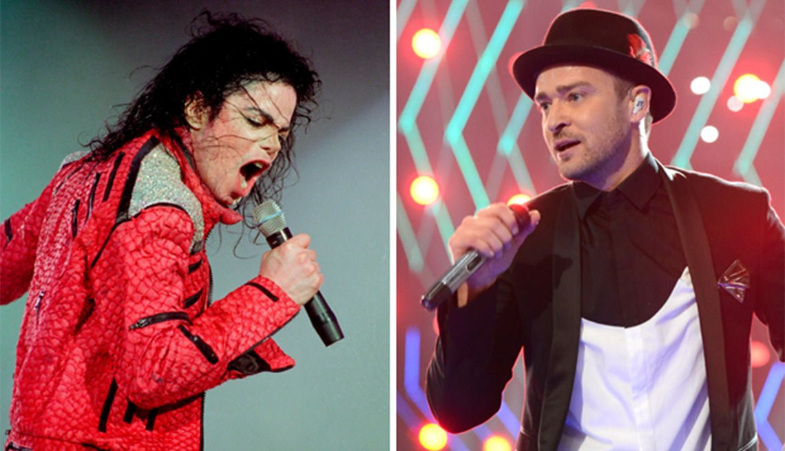 Bridging the Music Gap, Michael Jackson, Justin Timberlake