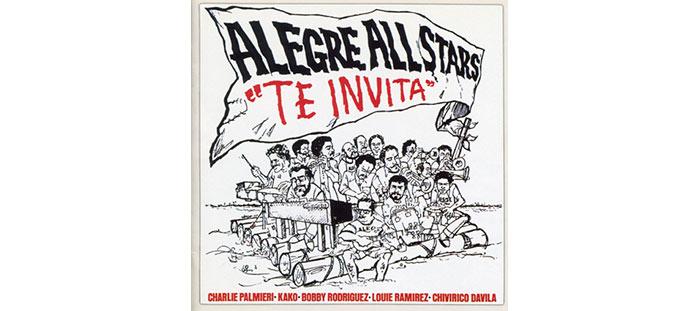 Portada de Alegre All Stars - Éxitos de Willie Rosario