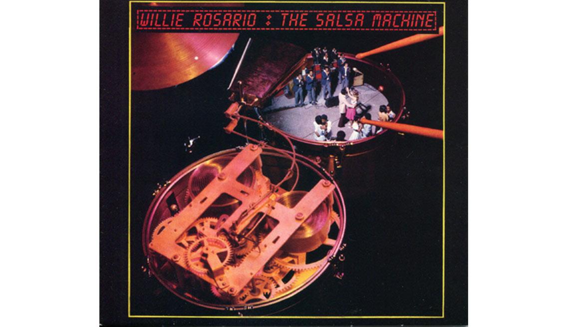 Portada del disco The Salsa Machine - éxitos de Willie Rosario