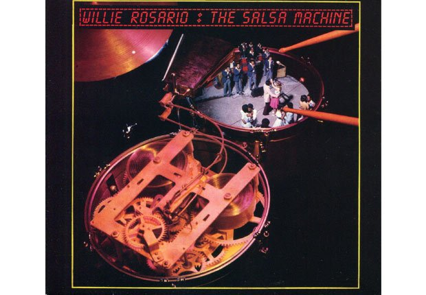 Portada del disco The Salsa Machine - éxitos de Willie Rosario