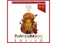 Portada del disco Por amor a Morelia, de Marco Antonio Solis